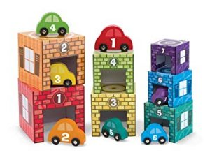 Speech Language toy Nesting and Sorting cars