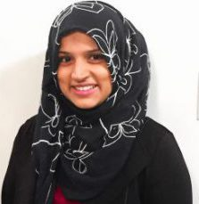A image of Speech Language Pathologist Zohra Roshanali smiling at the camera
