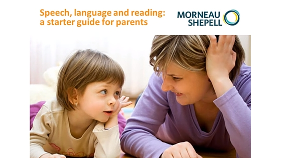 Speech, language, and reading - a guide for parents